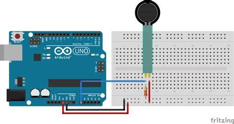 force sensing resistor fsr arduino tutorial  examples