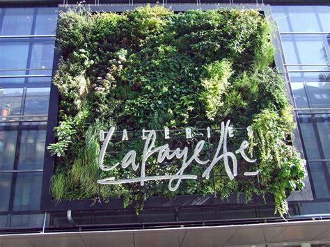 galeries lafayette berlin vertical garden patrick blanc