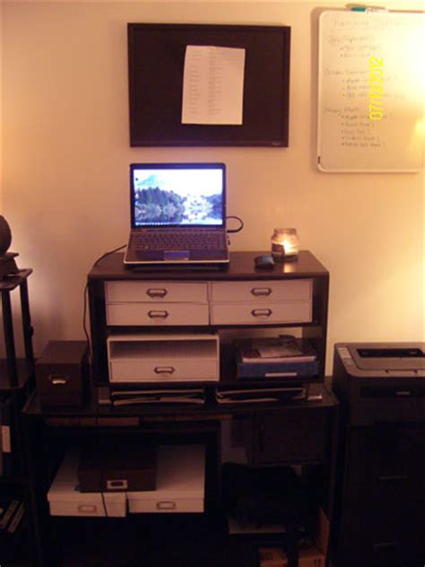 home office standing desk how to furnish your home office on a budget