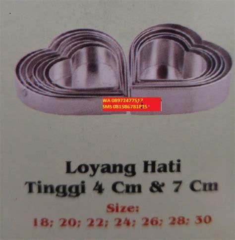 Cetakan Telurbentuk Hati Bahan Stainless Steel jual perlengkapan dapur alat rumah tangga stainless cetakan kue murah bekasi wa 08972477 517