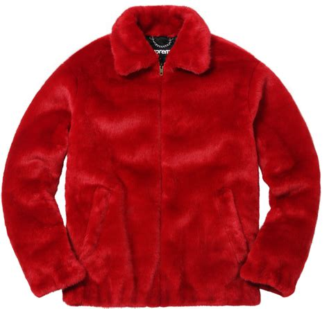 supreme jacket supreme faux fur bomber jacket