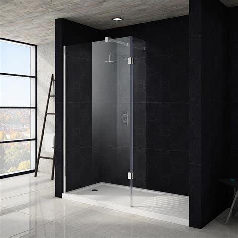 shower area apollo walk in shower tray with drying area 1700 x 800mm