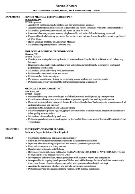medical technologist cover letter cover letter medical laboratory