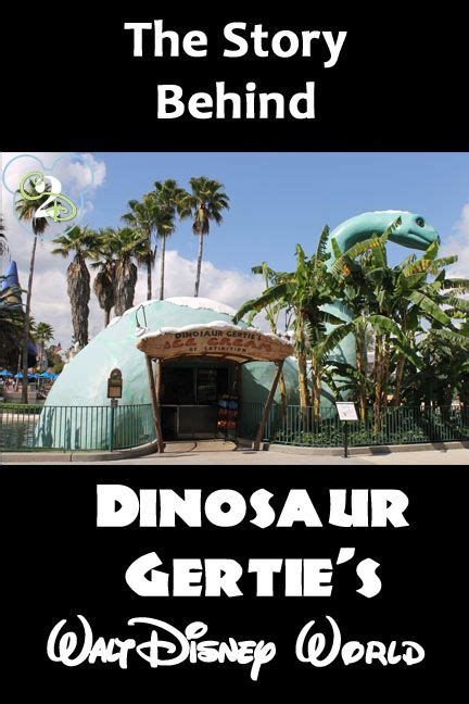 hollywood studios gertie dinosaur gertie s ice cream of extinction in hollywood