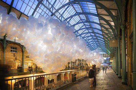 craft covent garden covent garden to be filled with 100 000 white balloons by