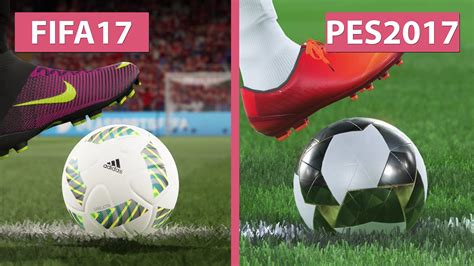 One Graphic 17 fifa 17 demo vs pes pro evolution soccer 2017 graphics