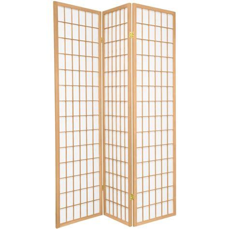 Shoji L by Window Pane Shoji Screen Room Dividers Folding Screen