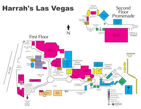 casino in usa map las vegas harrah s hotel map