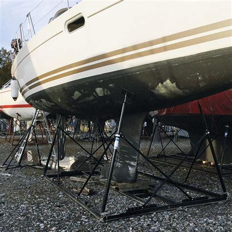 bootsgestell kaufen bootsgestell f 252 r boote schiffe bis 7 t gewicht 12 m l 228 nge