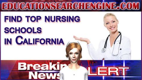 Nursing Programs In California - nursing schools in california