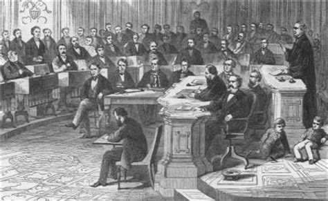 What Officers Can The House Impeach by President Andrew Johnson Impeachment Trial 1868 Senate