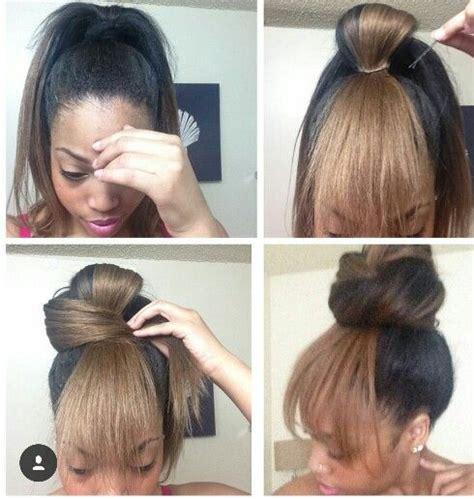 braidless sew ins in little rock arkansas attached fake bang hair simply haaaiiirrr