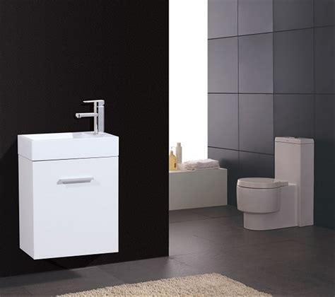 avant 18 inch contemporary wall mount bathroom vanity set bliss 18 quot high gloss white wall mount modern bathroom vanity