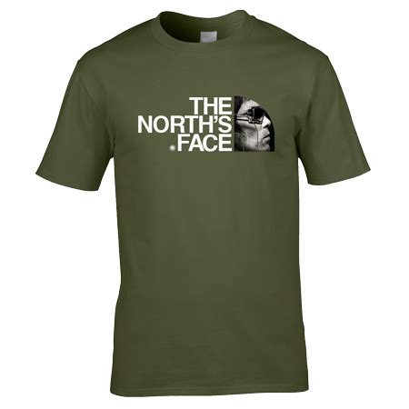 T Shirt The Nort Nafy ian brown the s t shirt in green