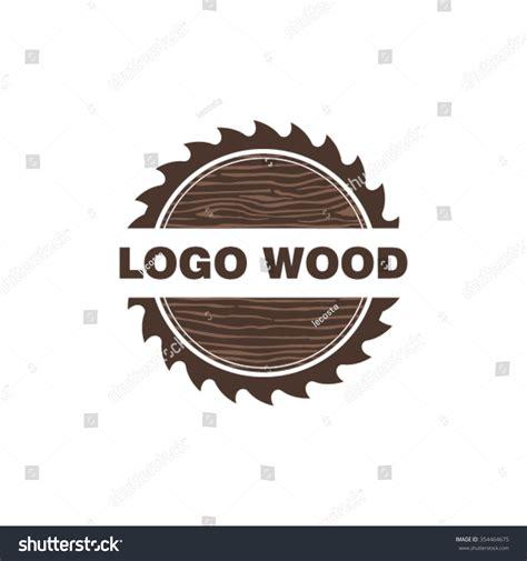woodworks logo woodworking logo design stock vector 354464675