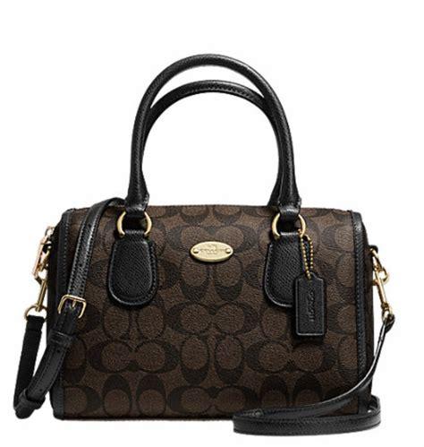 Coach Mini Bennet By Bebititota luxurycometrue coach signature mini satchel
