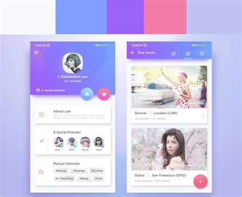 ui design trends for 2017 mobile app ui design trends 2017 krify