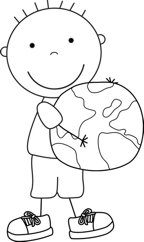 earth day coloring pages in spanish earth day pictures for kids 485907