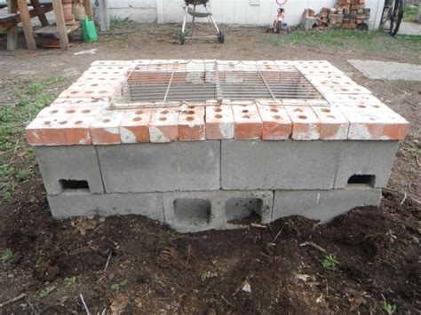 Alluring Concrete Block Fire Pit Design And Ideas Cinder Concrete Pit Exploding