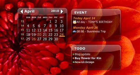 Icalendar For Pc Desktop Icalendar Lite Installa Un Calendario Sul Desktop
