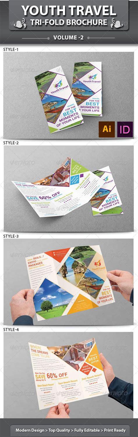 tri fold travel brochure template oyle kalakaari co