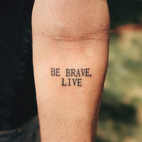 be brave tattoo be brave www pixshark images galleries with