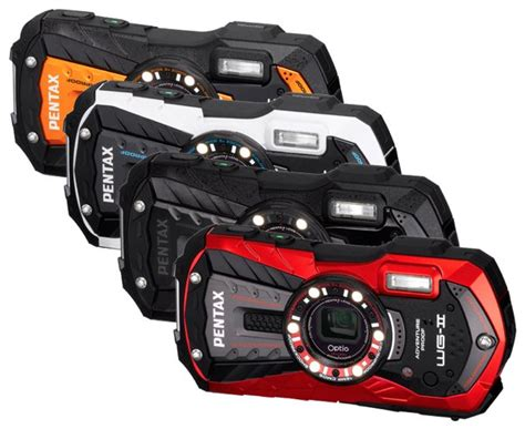 Pentax Rugged by Pentax Refreshes Its Rugged Lineup With The Optio