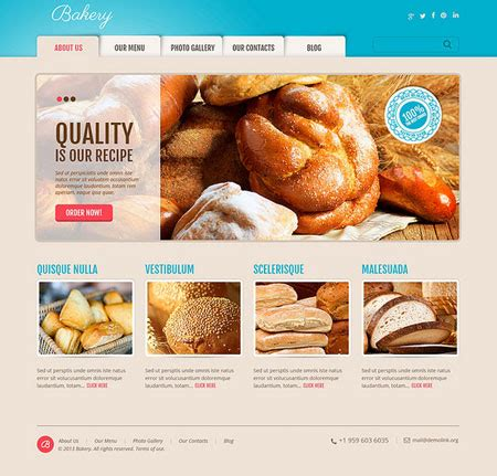 blogger themes bakery 7 wordpress themes for cake shops blogs wp solver