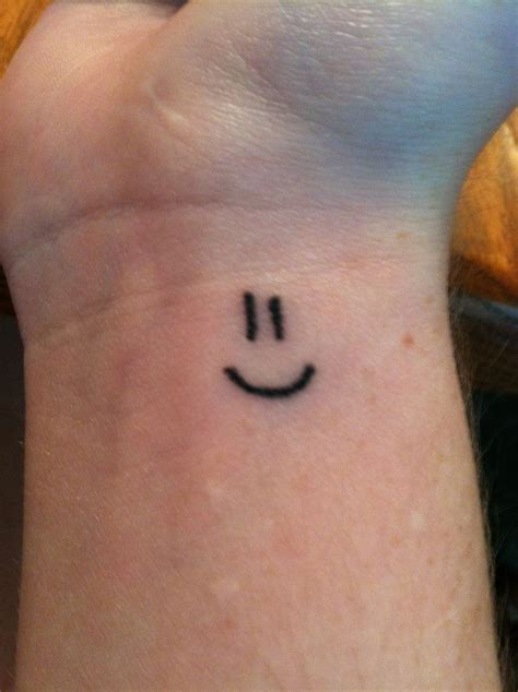 evil smiley tattoo the 25 best smiley tattoos ideas on