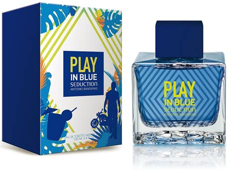Parfum Antonio Banderas Blue play in blue for antonio banderas cologne