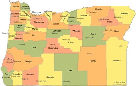 map of oregon and surrounding states oregon standoff agenda 21 and the blm uranium and gold