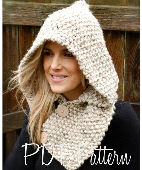 knitting pattern for a scarf with hood hooded scarf new 175 hooded scarf to knit