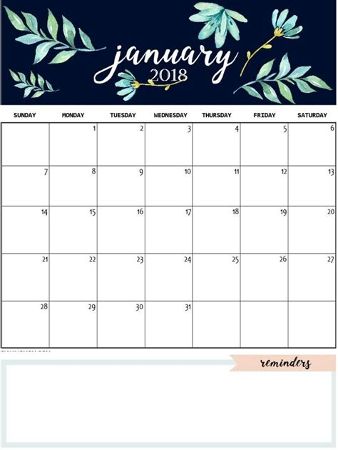 january  calendar template daily work  design january calendar  january calendar