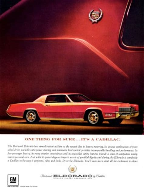 cadillac commercial with young male designer 1967 cadillac eldorado ad classic cars today online