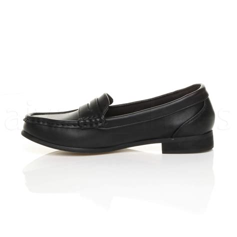 wide fit loafers womens womens low heel loafers smart work wide fit