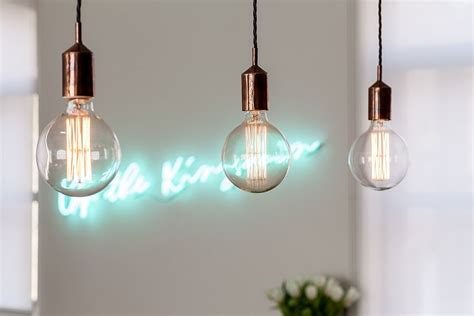 black industrial light fixtures