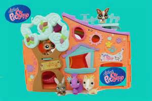 lps home littlest pet shop lps clubhouse club tree house hasbro