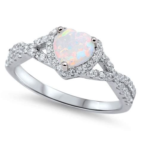 1000 ideas about opal promise ring on jewelry