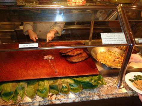 flank steak picture of the buffet at bellagio las vegas