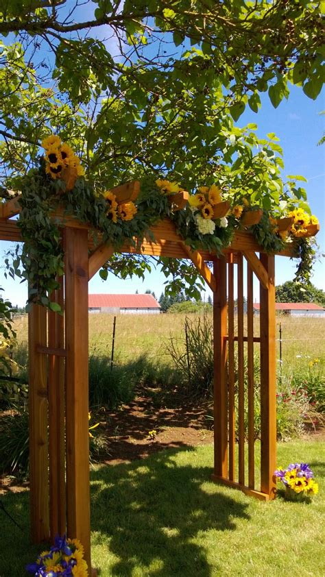 Wedding Arbor by S Wedding Arbor Wedding