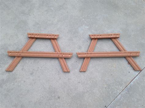 toddler table plans diy composite toddler picnic table plans