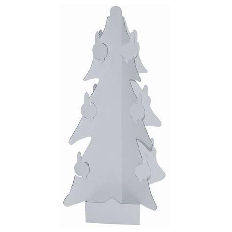 weihnachtsbaum christbaum aus karton pappe blanko zum