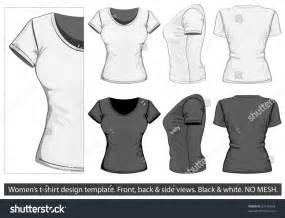 sport t shirt design templates vector womens tshirt design template front stock vector