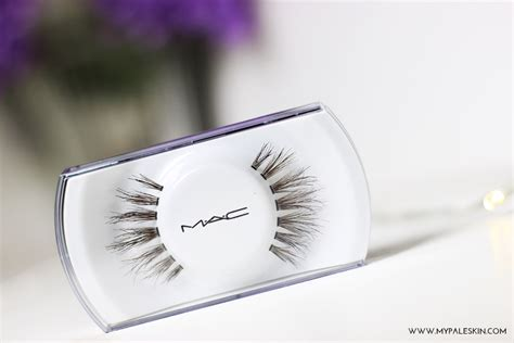 Mac Eyelashes my pale skin mac 35 eyelashes review