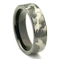 tungsten carbide 7mm military camouflage wedding ring
