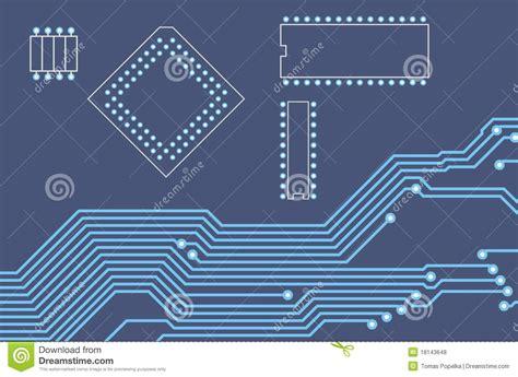 printed circuit board and integrated circuit pcb printed circuit board 19 royalty free stock photos image 18143648