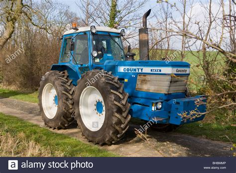 country ford ford county 1474 tractor stock photo royalty free image