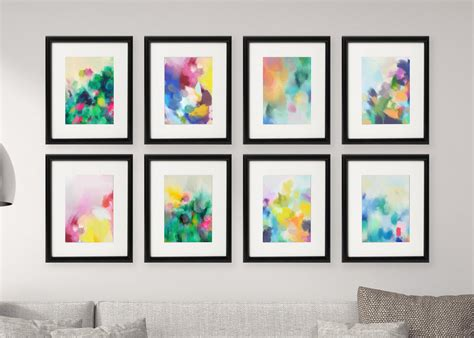 printable art gallery wall gallery wall free printables download all 8 colourful
