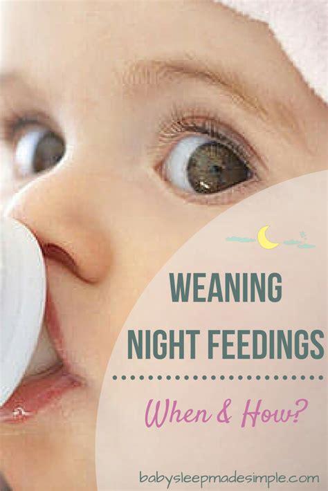 Feeding Weaning weaning feedings when how is best babies