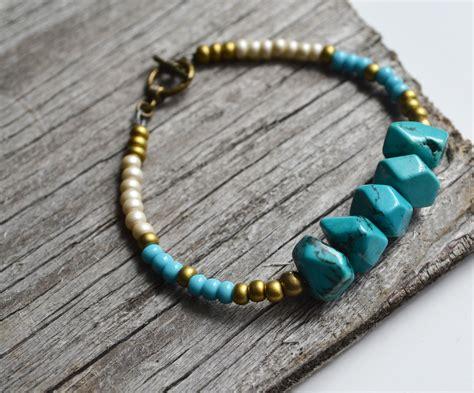 beaded braclets tribal bracelet turquoise beaded bracelet turquoise